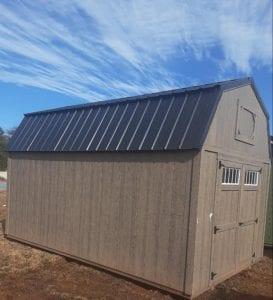 10x16 Lofted Barn - Driftwood Image