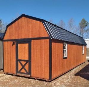 12x32 Side Lofted Barn Image