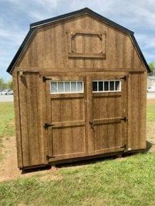10x20 Lofted Barn - Chestnut Image
