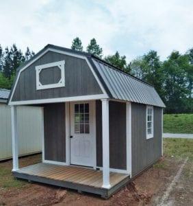 10X16 Lofted Barn Cabin Image