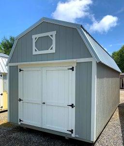 Lofted Barn 10x20 - Gray Image