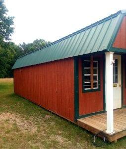 12x32 Lofted Barn Cabin Image