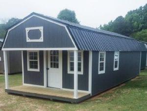 Lofted Barn Cabin 14x36 - LIKE NEW!! Image